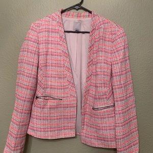 Halogen tweed blazer size large